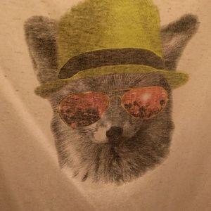 Foxy Linen Blend T-shirt, 18/20